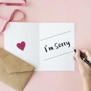 I am Sorry Flowers Kolkata