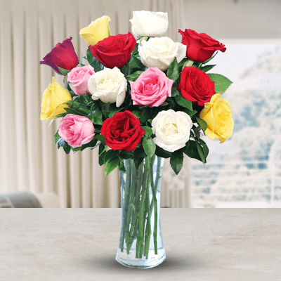 Heart Warming 15 Roses