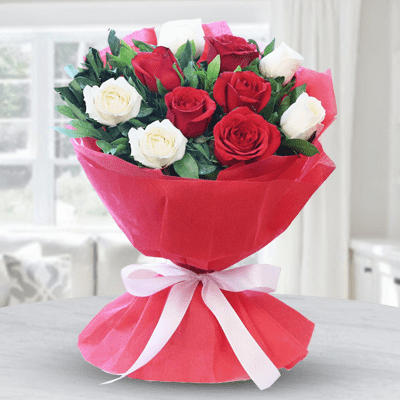 White & Red Bouquet