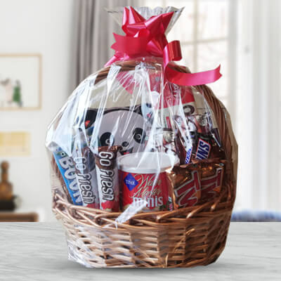 Mouthwatering Chocolate Basket