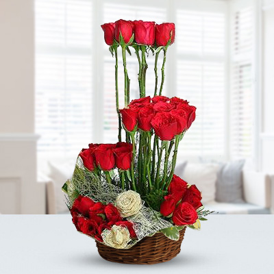 Basket of 35 Red